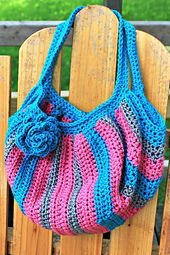 Ravelry: Jen's Fat Bottom Bag pattern by Jennifer Romero