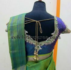 Customized Silk Saree Blouses | Saree Blouse Patterns