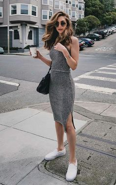 comfy dress Lässiges Outfit 47 Beautiful Casual Dress Ideas for Women Comfy Dresses, Trendy Dresses, Trendy Outfits, Fashion Dresses, Fashion Clothes, Fall Dresses, Work Outfits, Outfit Work, Dresses Dresses