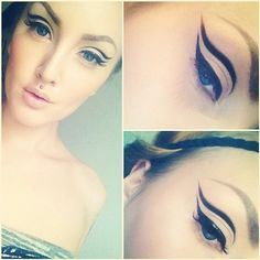 Instagram Insta-Glam: Graphic Eyeliner   Beauty High
