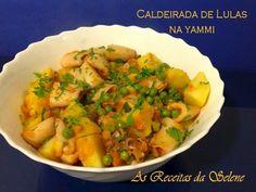 Receita Prato Principal : Caldeirada de lulas na yammi de Selene Receitas