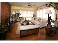 Modern Filipino Modern Filipino Interior, Modern Interior, Home Interior Design, Exterior Design, Modern Decor, Small Living Rooms, Home Living Room, Living Spaces, Filipino House