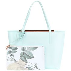 Ted Baker Tulip Crosshatch Leather Shopper Bag