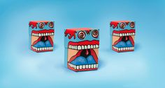 Monster Candy Packaging Designs - Smashcave