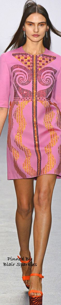 SPRING RTW 2016 (LFW) Holly Fulton ~ ♕♚εїз | BLAIR SPARKLES |
