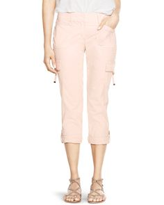 Convertible Ankle to Crop Cargo Pants - White House | Black Market