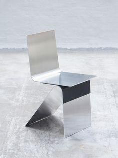 The Best of Milan Design Week 2018 — Part IV Ujoints_LeonRansmeier Carbon Tilt Steel Furniture, Funky Furniture, Design Furniture, Chair Design, Cheap Furniture, Furniture Stores, Furniture Movers, Furniture Chairs, Quality Furniture