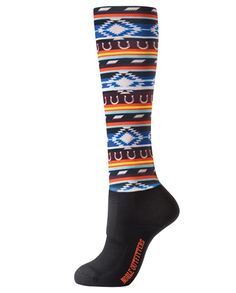2e7405c7666bb Noble Outfitters Women's Navajo Over-the-Calf Peddies Socks | Native  American Indian pattern