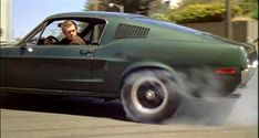 Steve McQueen Bullit Ford Mustang - an all time classic