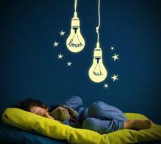 Glow In The Dark Bulb Decals Glow In The Dark Bulb Decals