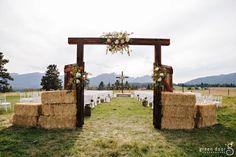 Corinne + John - Darby, MT Montana Wedding and Event Planning Cowgirl Wedding, Farm Wedding, Rustic Wedding, Dream Wedding, Wedding Day, Rustic Country Wedding Decorations, Field Wedding, Wedding Goals, Wedding Planning