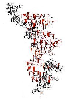 Kirsten Burke Contemporary Calligraphy
