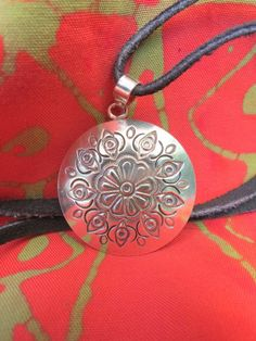 Sterling Silver Medallion - Wow!!!  Gotta have it.  www.shopblankslate.com