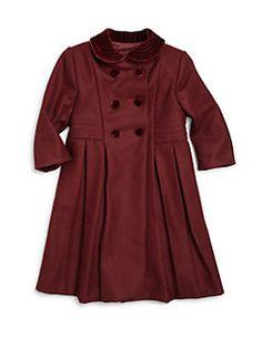 b9d00133e Girls' Clothes (Sizes 2-6): Dresses, Tops & More | Saks.com. Girls  ShoppingKids GirlsLittle GirlsWool CoatSize ClothingDouble BreastedMy GirlSize  ...