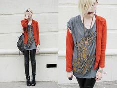 Edgy fashion. Bold, and I like it.