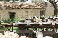 Photography: Carlie Statsky - www.carliestatsky.com Read More: http://www.stylemepretty.com/2014/11/21/rustic-elegance-at-holman-ranch/