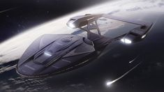 This is the my last design for 2018 and it is inspired by the Star trek enterprise series form As usual I am making my own concept of the ship and trying to have some fun :)Cheers and happy holidays everybody ! Starfleet Ships, Star Trek Images, Sci Fi Ships, Star Trek Starships, Star Trek Universe, Star Trek Ships, Star Trek Enterprise, Spacecraft, Science Fiction