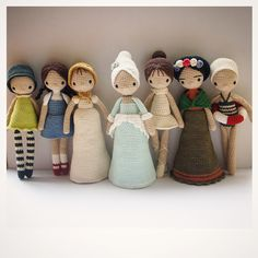 { Amour Fou | Crochet }: The Dolls