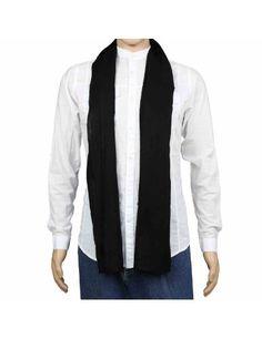 Belle écharpe noire 100% Cachemire pur Pashmina - Mode homme 30 x 152 cm: Amazon.fr: Vêtements et accessoires