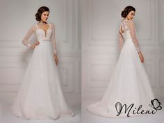 Model 2015 This princess wedding dress is created by MileniBride