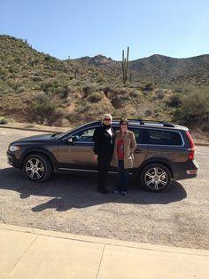 Volvo fun...with some sun, in beautiful sunny Scottsdale, Arizona.