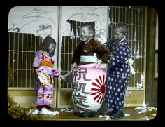 The Little Rascals - Tearing Down the House!, ca.1900-1910 attr. to Kozaburo Tamamura