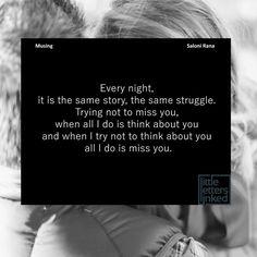 Every. Single. Night...