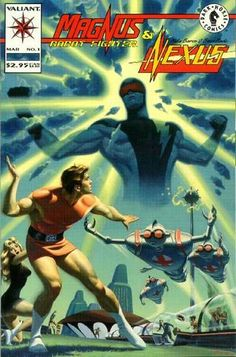Magnus Robot Fighter/Nexus comic books
