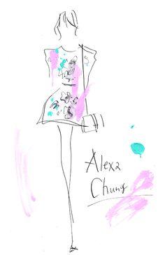 Alexa Chung is one of the style icons now. She does not employ stylist. It's amazing! I love her style! 現代のファッションアイコンの一人、アレクサ・チャン。 私は彼女のスタイルが大好きなのですが、驚くべきは彼女がスタイリストを雇っていないこと!