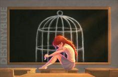 28 illustrations qui racontent avec émotion le combat d'une artiste britannique contre la dépression