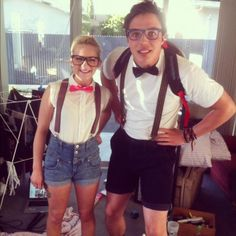 Simple Nerd Costumes For Couples  sc 1 st  Pinterest & 15 best Nerd Costumes images on Pinterest | Nerd costumes Costume ...