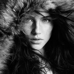 Look into my eyes... Beautiful Girls In Black & White ... follow me on twitter for more pics like this @Tony Q ... i follow back