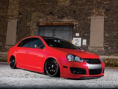 Check out Derick Szyda's 2006 Volkswagen Jetta GLI with its Awe Tuning S3 K04 turbo kit, AirLift Slam XL kit, Jl Audio amps, DSG transmission, and more! - Eurotuner Magazine