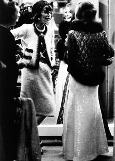 COCO CHANEL.... ET......L' ACTRICE ROMY SCHNEIDER............SOURCE PINIMG.COM......