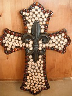 Large Wooden Wall Cross by isscruz1 on Etsy, $75.00