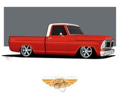 This is the rendering for my 1970 Ford It is one of the first vector renderings that I have done. Any way enjoy. Custom Ford Trucks, 79 Ford Truck, Ford Pickup Trucks, Chevy Trucks, Car Ford, Hot Rod Trucks, Cool Trucks, Big Trucks, Fox Mustang