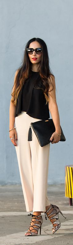 Cropped / Fashion By With Or Without Shoes
