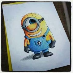 Minions! A cute minion drawing!