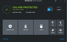 Bitdefender Total Security 2015 GRATUIT 1 an-SetMeFreePC