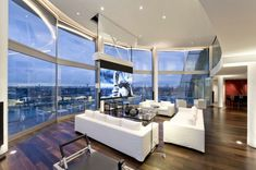 Riverside Penthouse by Richard Meier | HomeDSGN, a daily source for inspiration and fresh ideas on interior design and home decoration.