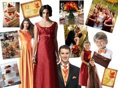 Elegant Autumn Maple Leaves Wedding Stationery Set - BridalTweet Wedding Forum & Community