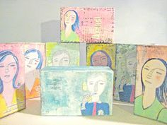 Alma Stoller: how to make a soap box canvas