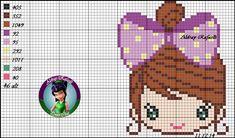 Cartoon character x-stitch Cross Stitch Boards, Cross Stitch Alphabet, Cross Stitch Baby, Graph Crochet, Crochet Cross, Cross Stitch Designs, Cross Stitch Patterns, Tapestry Crochet, Back Stitch