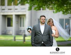 Peaks of Otter Lodge | first look wedding portrait | Blended Light Photography
