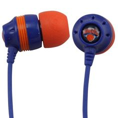 Skullcandy New York Knicks Inkd Ear Buds - http://weheartnyknicks.com/ny-knicks-fan-shop/skullcandy-new-york-knicks-inkd-ear-buds