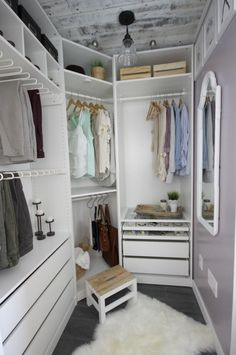 Dream Closet Makeover Reveal Small Walk In