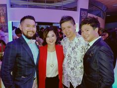 No introductions required for these fine gentlemen....the maestro Dennis Lau & man w the voice Adrian.  #gentlemen #LORDS #fashionweek #fashion #talents #KualaLumpur  #Malaysia #event