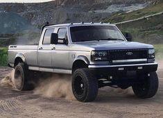 ford trucks old Diesel Trucks, Ford Diesel, Ford Pickup Trucks, Lifted Trucks, Lifted Dually, Cool Trucks, Big Trucks, Obs Truck, Ford Obs