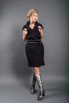 Dip Dye, Leather Skirt, Fall Winter, Red Gold, Romania, Skirts, Silver, Winter Fashion, Metallic