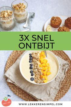 bijzonder ontbijt maken